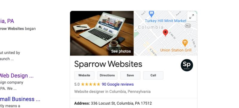 sparrow websites all about google my business 001 | Sparrow Websites